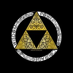 Super LikeLikes: Zelda - triforce circle Tshirt Print Design by Art et Be #zelda