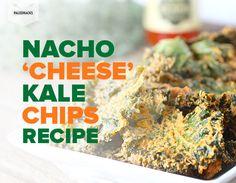 Nacho 'Cheese' Kale Chips Recipe