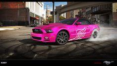 My Dream Car! Pink Mustang!