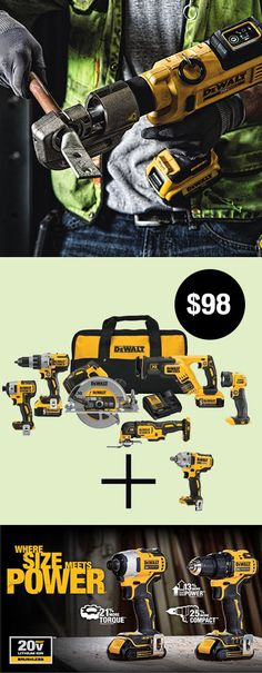 Leather Rifle Sling, Dewalt Power Tools, Power Tool Storage, Pallet Barn, Futuristic Motorcycle, Black Nike Shoes, Construction Tools, Tools Hardware, Cool Gadgets To Buy