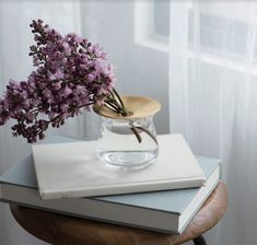 Size: ø8 x 7 cm / 170 ml Colour: clear glass Materials: Soda glass, Brass. LUNA by Kinto is a single-flower vase featuring a brass plate that gently shines as though it is reflecting the moonlight. The plate supports leaves of plants and is suited for enjoying hydroponic growing of succulents. The plate can be remove and taking care of plants is easy. The Luna glass vase can also be used on its own to display a small bouquet. The brass will age gracefully over time, adding richness and depth…