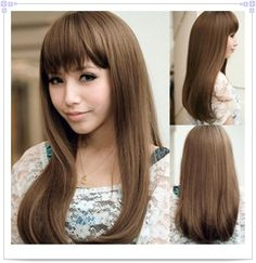 asian with brown hair | Tipped Human Hair Extensions #08 Chestnut Brown,0.5g/s-in Fusion Hair ...