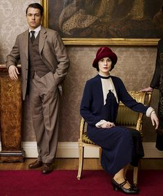 Mary Crawley & Charles Blake he is my choice for Lady Mary -- I've admired him since enjoying him as Michael Kitchen's son on Foyle's War'