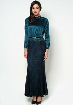 Buy Zalia Embellished High Collared Lace Maxi Dress | ZALORA Malaysia. For Malaysia, Brunei, (may) Singapore and Indonesia.