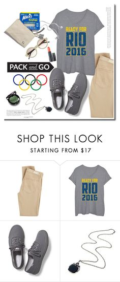 """""""pack n go Rio"""" by adduncan ❤ liked on Polyvore featuring AG Adriano Goldschmied, Keds, BoConcept, Olympics, rio, Packandgo and plus size clothing"""