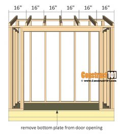 Plans to Build a shed on a weekend - Lean to shed plans, rafters 16 O. Build a Shed on a Weekend - Our plans include complete step-by-step details. If you are a first time builder trying to figure out how to build a shed, you are in the right place! Lean To Shed Plans, Wood Shed Plans, Shed Building Plans, Diy Shed Plans, Small Shed Plans, Building Ideas, 4x8 Shed, Building Homes, Bed Plans
