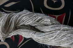 Mountain goat wool