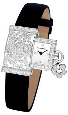 Van Cleef & Arpels secret dentelle.- style - classic - lifestyle - luxury - elegance - vintage - classy - elegant