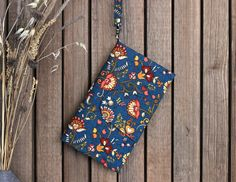 by KodamaLife on Etsy Travel Document Organizer, Document Holder, Passport Travel, Bright Flowers, Small Crossbody Bag, Wallets For Women, Free Gifts, Gifts For Women, Shoulder Bag