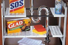 Clever Solutions For Under-kitchen-sink Storage: Plumbing Workaround