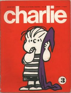 Charlie Mensuel - # 3 - Avril 1969 - Couverture de Schulz
