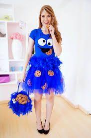 Afbeeldingsresultaat voor cookie monster halloween costume