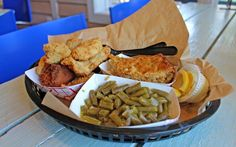 There are many different kinds of barbeque throughout the South, all of them delicious in their own right. Down in Pawleys Island is the state's only Moe's Original Bar-b-que, a restaurant chain known for specializing in Alabama-style barbeque.