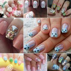 Inpirações de unhas para a Páscoa!