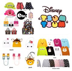 New Tsum Tsum Clothing and Merchandise Released by CHOCOOLATE