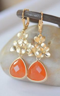 orange + gold. love!
