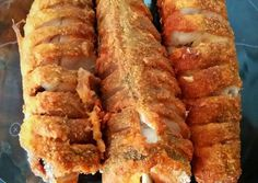 Fish in the oven Tepsiben sült hekk MiCsillától Hungarian Recipes, Fish Recipes, Hot Dog Buns, Meal Planning, Bacon, Clean Eating, Pork, Food And Drink, Low Carb