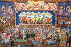 saloon dance painting - Google Search