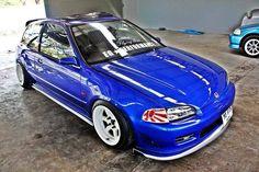 #Honda #Civic #Eg #Slammed #Stance