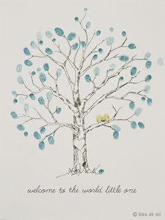 Bleu de Toi - Baby Trees, $40.00 (http://www.shopbdt.com/baby-trees/)