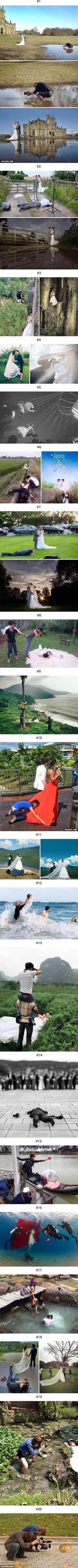 20 Photos That Prove Wedding Photographers Are Crazy  http://9gag.com/gag/amz9ny4?ref=mobile