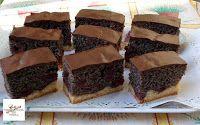 Érdekel a receptje? Kattints a képre! Hungarian Cake, Cake Bars, Gem, Deserts, Muffin, Paleo, Food, Poppy, Drinks