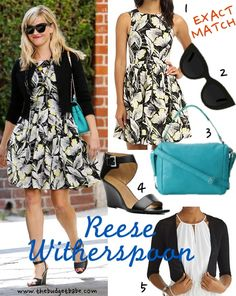 Reese Witherspoon's $118 floral dress from French Connection