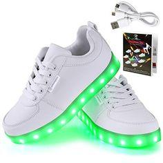 online store 487e8 d29b2 lI❶Il Angin-Tech LED Schuhe 7 Farbe Unisex▷ Sneaker LED   -