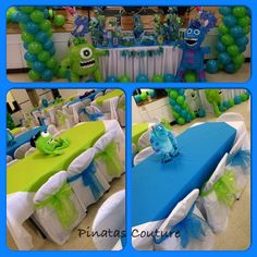 Monster's Inc 2nd Birthday | CatchMyParty.com