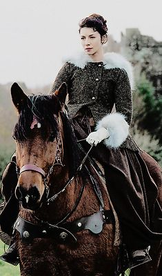 Claire on horse