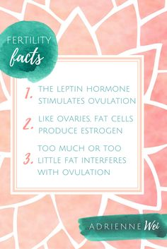 Listen to episode 15 of my podcast to learn how all of these hormones that are stimulated from fatty foods relate to your fertility.