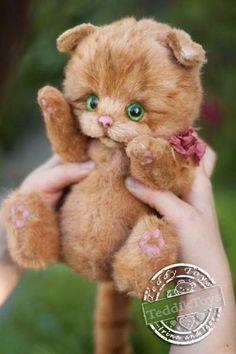 Kitten Benya By Irina Vnukova - Bear Pile