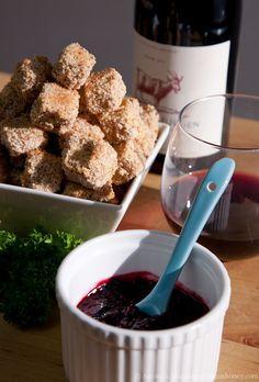 tofu with blackberry sauce almond crusted tofu with blackberry sauce ...