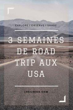 Retrouvez 3 itinéraires de road trip mythiques de l'Ouest des USA ! Un programme jour par jour.