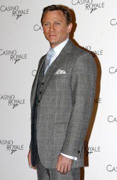 Daniel Craig at a premiere of Casino Royal