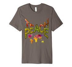 Teach Peace - prime-Tshirt Nadine May Power of Words
