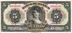 1920 Paper Money Mexico