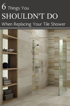 Learn 9 reasons you shouldn't build a tile shower, and better alternatives to cut your costs and eliminate worries about mold or leaking. For shower design advice and wholesale direct wall panel or shower base pricing call Bathroom Wall Panels, Shower Wall Panels, Big Shower, Shower Base, Shower Rooms, Shower Bathroom, Bath Tub, Bathroom Faucets, Diy Bathroom Remodel