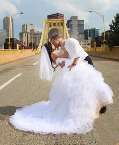 Wedding day picture Pittsburgh Justin Alexander 8612