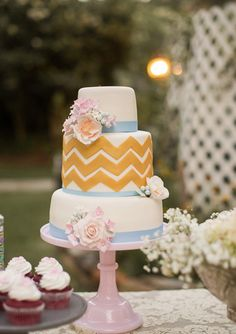 Blues | Wedding and Party Ideas | 100 Layer Cake