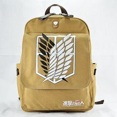 FAIRY SERAPHIM  Attack On Titan Backpacks Top Quality Direct Selling Anime Schoolbag Mochila Backpack-in Backpacks from Luggage & Bags on Aliexpress.com | Alibaba Group