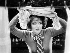 Clara Bow in Wings   23 Classic Hollywood GIFs That Are Better Than A Time Machine