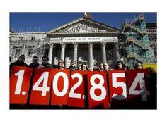 La ILP antidesahucios y por la dación en pago logra ser debatida en el Congreso | BolsaSpain
