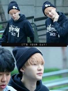 150515 BTS on the way to Music Bank