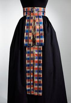 Danish ladies belt, 1800 - 1900