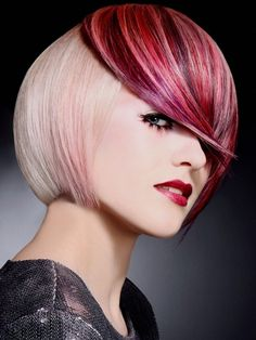 Colorful Hair Highlights Ideas   Studió Parrucchieri Lory (Join us on our Facebook Page)  Via Cinzano 10, Torino, Italy.