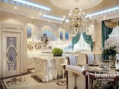 Kitchen Design in Classical Style