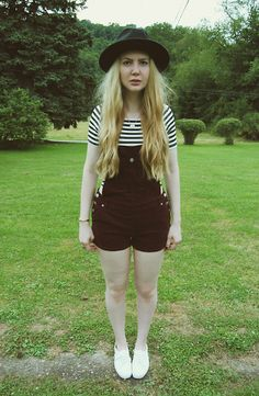 Gypsy Warrior Hat, Lookbook Store Crop Top, Forever 21 Overalls, Keds Shoes