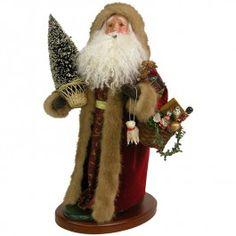 Byers' Choice Santa Trimmed in Fur