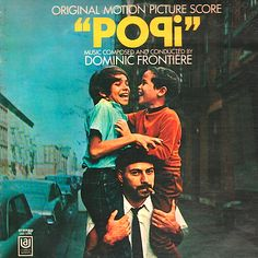 """""""Popi"""" (1969, United Artists).  Music from the movie soundtrack."""